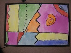 Artolazzi: First Grade Line Paintings