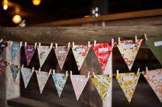 adorable vintage bunting place names Handmade Wedding Decorations, Wedding Reception Decorations, Wedding Banners, Vintage Bunting, Diy Wedding Inspiration, Bunting Banner, Bunting Ideas, Wedding Trends, Wedding Ideas
