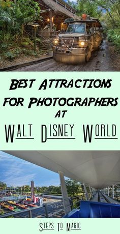 When you look at Walt Disney World, there are only a few attractions that stand out for folks who love to be behind the lens. This list will bring to light the experiences that you should just put the camera away and enjoy the magic that the Imagineers have created! There are a couple of levels that we'll be looking at for this list, but the goal is to give you as much info to convince you to just sit back and enjoy.