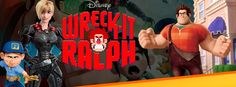 Wreck it Ralph - FB Time Line Covers