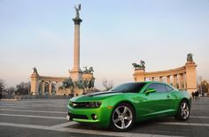 Chevrolet Camaro RS @ Heroes Square Budapest Hungary