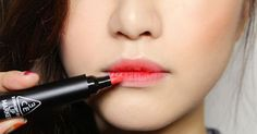 To keep your lipstick in place Use a touch of concealer on your mouth before applying.    Read more: 9 Genius Beauty Tricks