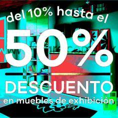 Obtén hasta un 50% de descuento en todos nuestros # Muebles de exhibición, visitanos en Av. Nuevo Leon 160- A en la colonia Condesa en #CDMX ;)