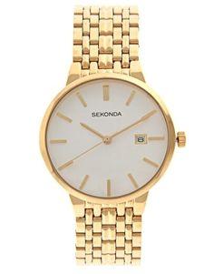 Sekonda Gold Bracelet Watch - StyleSays