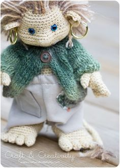 Forest Troll - Etsy pattern by Annie's Granny.