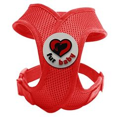 Best Choke-Free Dog Harness to keep your pet safe and comfortable. Harnesses are far superior to a collar to protect the neck and throat of your pet. Sizes for small dogs breeds and puppies. High quality similar to Puppia and Webmaster. Perfect to use in dog training or for a puppy. MEASURE YOUR DOG USING THE SIZE CHART IN THE IMAGES BEFORE BUYING. 100% Satisfaction Guarantee (Red, XS) - http://www.thepuppy.org/best-choke-free-dog-harness-to-keep-your-pet-safe-and-comfortable