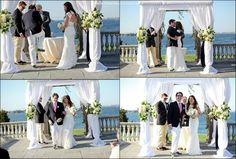 Real Jewish Wedding, Newport RI - #chuppah #Professionalimage #EventPhotography – get rates, info & availability for Event Photography ~