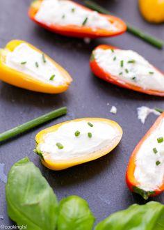 Mini Peppers With Whipped Feta Recipe