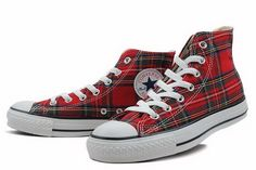 I've been in LUV with Chucks since high school. I was never brave enough to wear anything this vibrant, however!