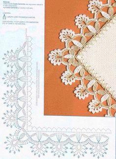 Barradinho de crochet! Amei! ➡️ www.artecomquiane.com