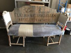 Another beautiful Metamorphose Upholstery & Furniture project.