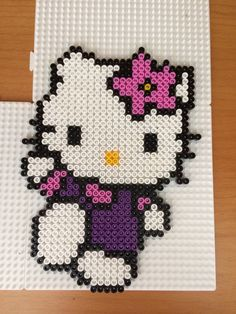 Hello Kitty hama beads by Camilla Merstrand