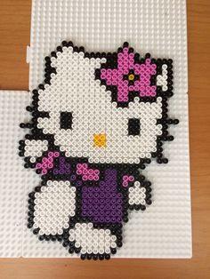 Hello Kitty hama beads by Camilla Merstrand