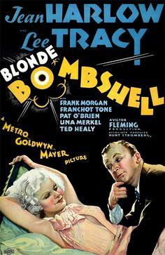 Bombshell (1933) - Jean Harlow, Lee Tracy, Frank Morgan, Franchot Tone, Pat O'Brien