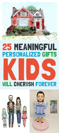 25 Meaningful Personalized Gifts Kids Will Cherish Forever