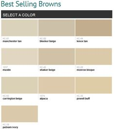 Best Selling Neutrals Benjamin Moore Smart Manchester Tan And Bleaker Beige Are All Over My