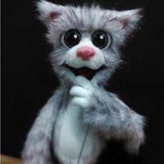 Felt Puppets, Puppet Toys, Hand Puppets, Little Pet Shop, Little Pets, Needle Felted Animals, Felt Animals, Fabric Dolls, Rag Dolls