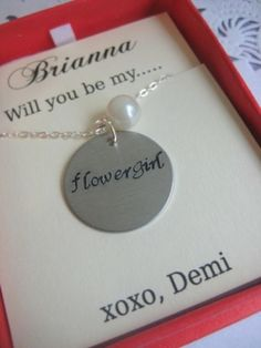 love this idea... for bridesmaids too and have them wear them at the wedding... needs to be a little flashier though