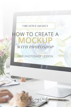 Sometimes, you have to create a mockup with Photoshop when there is nothing else out there. In this tutorial, I'm going to walk you through the process of how I do it when I can't find something online that will work to showcase your work. Click to watch the video tutorial.