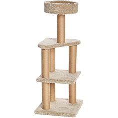 SHUTAO Cat climbing frame cat litter cat tree big cat sisal cat scratching cat cat jumping platform cat environmental toys L *** Continue to the product at the image link. (This is an affiliate link) Sisal, Cat Tree Condo, Cat Condo, Devon Rex, Cool Cat Trees, Cool Cats, Maine Coon, Vesper Cat Furniture, Outdoor Cat Tree