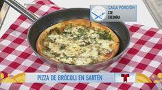 Receta de cocina: el Chef James te enseña a preparar una pizza de brócoli en olla (VIDEO)