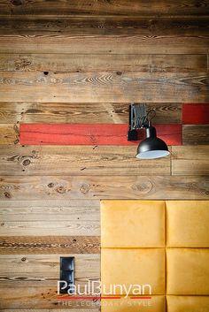 Deski ścienne ze starego drewna - jasnobrązowe Deski ścienne ze starego drewna Wood Wall, Wall Lights, Lighting, Home Decor, Style, Swag, Appliques, Decoration Home, Room Decor