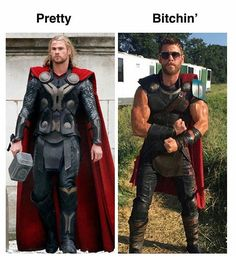 I can go either way #ThorTheDarkWorld #ThorRagnarok