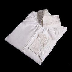 Brodert skjorte til kvinnebunad fra Vest-Telemark Norway, Vest, Pure Products, Costumes, Country, Color, Fashion, Colour, Moda