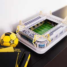The SIGNAL IDUNA PARK, our temple. BVB Stadium 3D Puzzle is a replica of the original scale approximately 1:567th A challenge which is worth it. EN http://www.bvbfanshop.com/stores/bvb/en/product/bvb-3d-stadium-puzzle/168681 DE https://shop.bvb.de/artikel/BVB-3D-Stadionpuzzle-15332000?utm_source=pinterest&utm_medium=pin&utm_campaign=stadionpuzzle