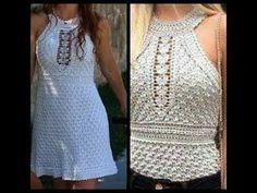 crochet tutorial blusa/ vestido verano