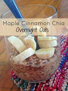Running Check-in + Maple Cinnamon Chia Overnight Oats | chicagojogger.com