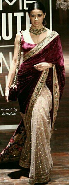 36 brand new saris for the Indian wedding hopper Lehenga, Sabyasachi Sarees, Indian Sarees, Pakistani, Lakme Fashion Week, India Fashion, Asian Fashion, Trendy Sarees, Stylish Sarees
