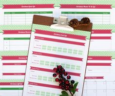 * She Makes a Home *: Christmas Planning with Bizuza Printables