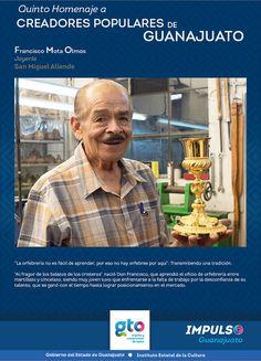 Conoce a nuestros Creadores Populares de Guanajuato. Centro de las Artes de Guanajuato