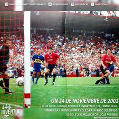 #IndependienteHistorico #Independiente, como local, empata 1 a 1 frente a #Boca y queda a un paso del título.