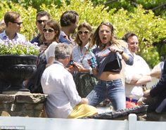 Princess Beatrice and Eugenie attend Graceland wearing Elvis sunglasses for Guy Pelly's we...