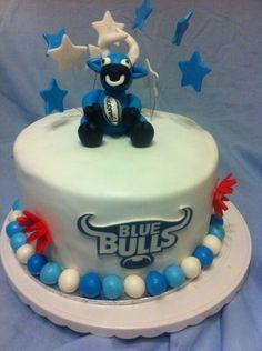 Blou bul cake