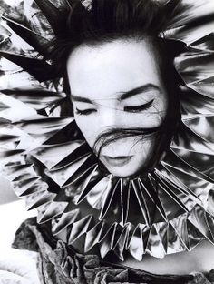Bjork – photo by Inez van Lamsweerde and Vinoodh Matadin