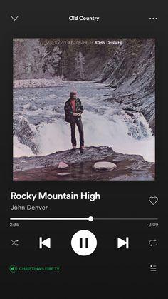 Denver Rocky Mountains, Country Playlist, John Denver, Mountain High, Music, Musica, Musik, Muziek, Music Activities