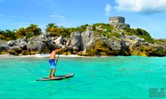 Isle Paddles Tulum Ruins & Playas Del Carmen Mexico... I was just there