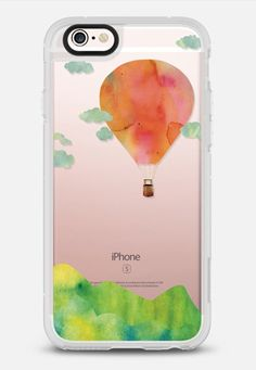 Casetify iPhone 7 Case and Other iPhone Covers - SUNSET BALLOON(BLUSH)  by KANIKA MATHUR | #Casetify
