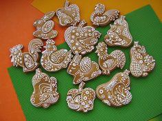 jarní variace Cookie Decorating, Super, Cookies, Desserts, Animals, Food, Ginger Beard, Crack Crackers, Tailgate Desserts