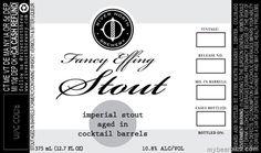 mybeerbuzz.com - Bringing Good Beers & Good People Together...: River North - Fancy Effing Stout