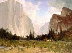 Famous Hills | ... View Cemetery in Oakland: Thomas Hill (1829 - 1908) - Famous Painter