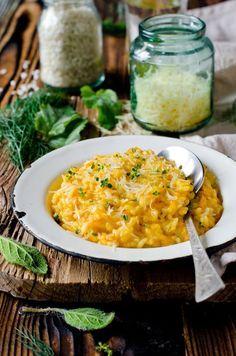 Risotto au curry et poulet grillé
