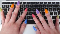 5 Things You Have To Re-Learn When You Have Fake Nails. Ah, the joys of press-on nails...