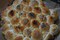Hier seht ihr noch ein Bild von der leckeren Brötchensonne. #Party #buffet #Geburtstag #buns #breakfast #Frühstück #grillen #sun #bread #flour