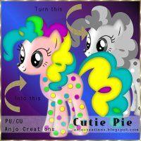 CU Cutie Pie Template