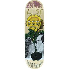 """Toy Machine Romero Peeping Toy Deck -8.5 Assembled as COMPLETE Skateboard. Brand: Toy Machine - Deck width: 8.5"""". Universo Extremo Boards gets you the ultimate package to turn your favorite DECK into a true COMPLETE SKATEBOARD at one unbelievable low price! - go skateboarding!. PRO: LEO ROMERO. <b>NOTE: PROFESSIONALLY ASSEMBLED CUSTOM COMPLETE with Premium Components by Mini-Logo™: 53mm WHEELS - Skate Rated™ BEARINGS - Lightweight High Performance TRUCKS with High Rebound BUSHINGS - Multi..."""
