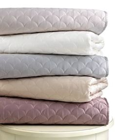 Barbara Barry Bedding, Crescent Moon European Sham - Quilts & Bedspreads - Bed & Bath - Macy's